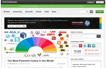 http://www.colourlovers.com/business/blog/2010/09/15/the-most-powerful-colors-in-the-world