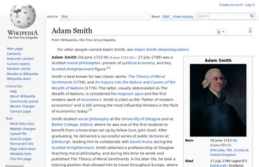 http://en.wikipedia.org/wiki/Adam_Smith