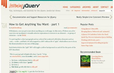 http://www.learningjquery.com/2006/11/how-to-get-anything-you-want-part-1