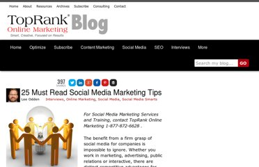 http://www.toprankblog.com/2009/04/social-media-marketing-tips/