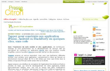 http://www.presse-citron.net/yapper-pour-construire-son-application-iphone-android-ou-blackberry-en-quelques-clics-sans-code