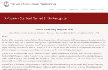 http://nlp.stanford.edu/software/CRF-NER.shtml