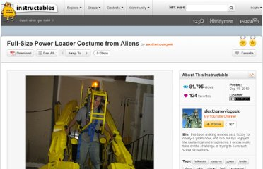 http://www.instructables.com/id/Life-Size-Power-Loader-Costume-from-Aliens/