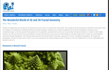 http://www.pxleyes.com/blog/2010/08/the-wonderful-world-of-2d-and-3d-fractal-geometry/