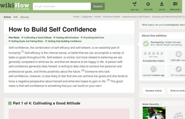 http://www.wikihow.com/Build-Self-Confidence