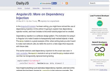 http://dailyjs.com/2013/05/23/angularjs-injection/