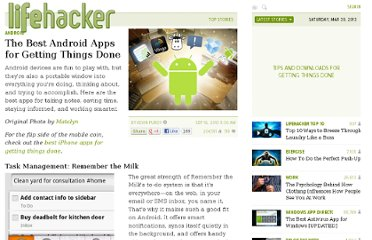http://lifehacker.com/5639036/the-best-android-apps-for-getting-things-done