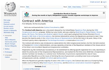 http://en.wikipedia.org/wiki/Contract_with_America