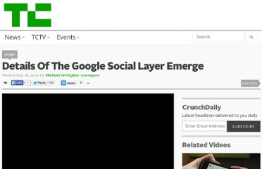 http://techcrunch.com/2010/09/16/details-on-the-google-social-layer-emerge/