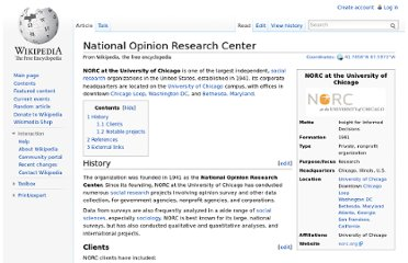 http://en.wikipedia.org/wiki/National_Opinion_Research_Center
