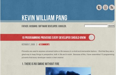 http://www.kevinwilliampang.com/2008/10/07/10-programming-proverbs-every-developer-should-know/