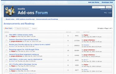 https://forums.addons.mozilla.org/viewforum.php?f=19&sid=88b39331b610d6708f58f89bb4169506