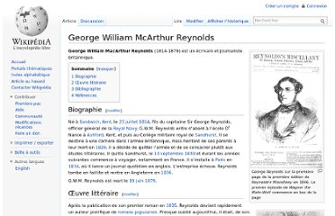 http://fr.wikipedia.org/wiki/George_William_McArthur_Reynolds