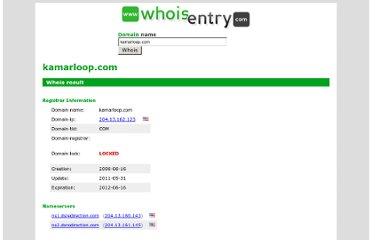 http://www.whoisentry.com/domain/kamarloop.com