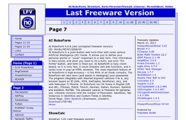 http://www.321download.com/LastFreeware/page7.html