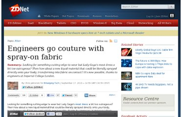 http://www.zdnet.com/blog/emergingtech/engineers-go-couture-with-spray-on-fabric/2385