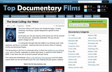 http://topdocumentaryfilms.com/great-culling-our-water/