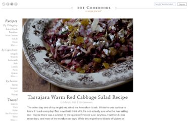 http://www.101cookbooks.com/archives/tassajara-warm-red-cabbage-salad-recipe.html
