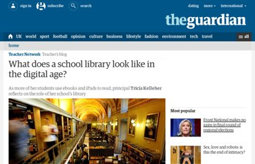 http://www.guardian.co.uk/teacher-network/teacher-blog/2013/may/30/school-library-digital-age