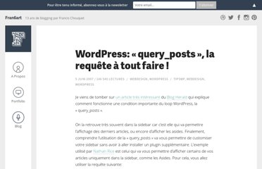 http://www.fran6art.com/webdesign/wordpress-query_posts-la-requete-a-tout-faire/
