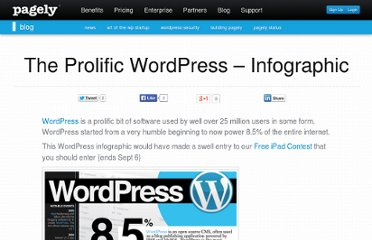 http://blog.page.ly/2010/08/the-prolific-wordpress-infographic/