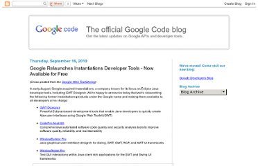 http://googlecode.blogspot.com/2010/09/google-relaunches-instantiations.html