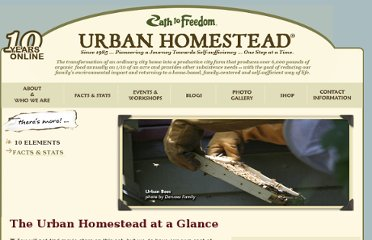 http://urbanhomestead.org/urban-homestead