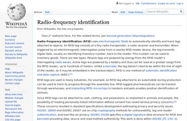 https://en.wikipedia.org/wiki/Radio-frequency_identification