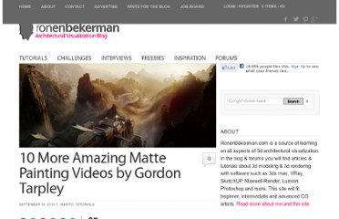 http://www.ronenbekerman.com/10-more-amazing-matte-painting-videos-by-gordon-tarpley/#utm_source=feedburner&utm_medium=feed&utm_campaign=Feed%3A+ronenbekerman+%28Ronen+Bekerman%29