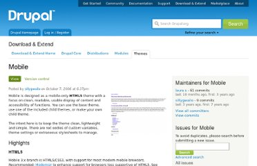 http://drupal.org/project/mobile