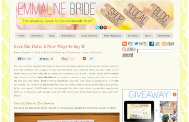http://emmalinebride.com/inspiration/save-the-date-8-new-ways-to-say-it/