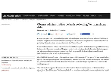 http://www.latimes.com/news/politics/la-pn-obama-defends-verizon-data-collection-20130606,0,4449398.story