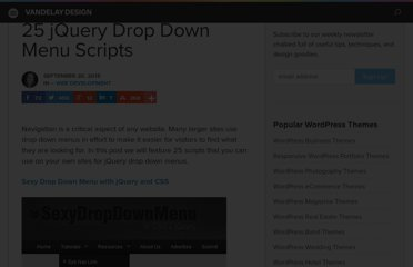 http://vandelaydesign.com/blog/web-development/jquery-drop-down-menus/