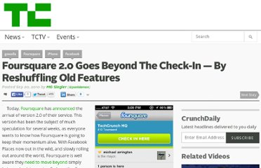 http://techcrunch.com/2010/09/20/foursquare-2/