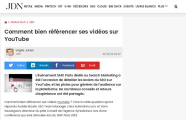 http://www.journaldunet.com/solutions/seo-referencement/vseo-referencer-les-videos-youtube.shtml