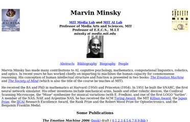 http://web.media.mit.edu/~minsky/