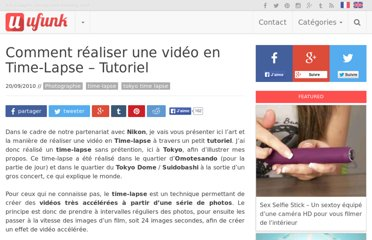 http://www.ufunk.net/photos/comment-realiser-une-video-en-time-lapse-tutoriel/