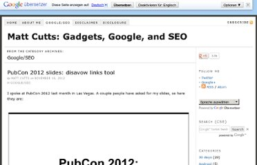 http://www.mattcutts.com/blog/type/googleseo/