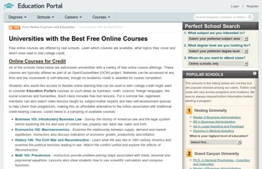 http://education-portal.com/articles/Universities_with_the_Best_Free_Online_Courses.html
