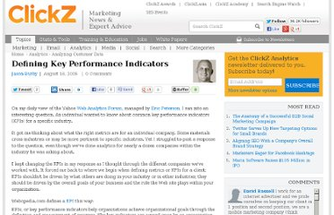 http://www.clickz.com/clickz/column/1709639/defining-key-performance-indicators