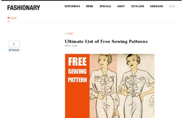 http://fashionary.org/blog/ultimate-list-of-free-sewing-patterns/