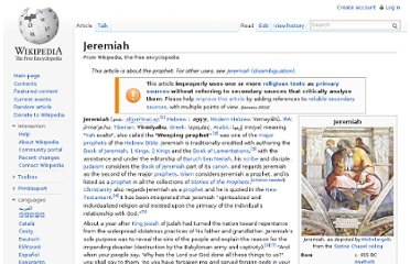 http://en.wikipedia.org/wiki/Jeremiah#Call.2C_Training.2C_and_Early_Ministry