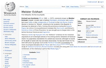 http://en.wikipedia.org/wiki/Meister_Eckhart#Works_and_doctrines