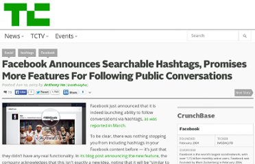 http://techcrunch.com/2013/06/12/facebook-hashtag/