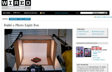 http://howto.wired.com/wiki/Build_a_Photo_Light_Box