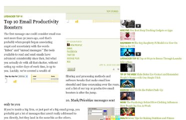 http://lifehacker.com/380044/top-10-email-productivity-boosters