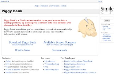 http://simile.mit.edu/wiki/Piggy_Bank