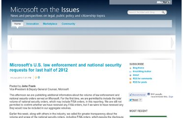 https://blogs.technet.com/b/microsoft_on_the_issues/archive/2013/06/14/microsoft-s-u-s-law-enforcement-and-national-security-requests-for-last-half-of-2012.aspx?Redirected=true