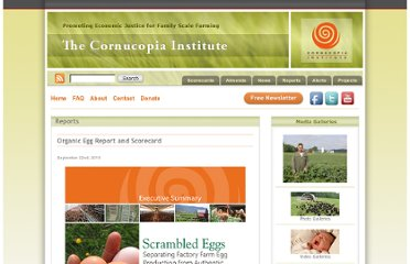http://www.cornucopia.org/2010/09/organic-egg-report-and-scorecard/