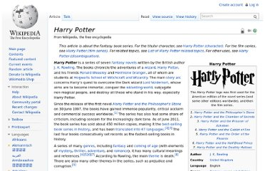 http://en.wikipedia.org/wiki/Harry_Potter